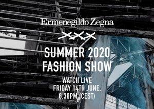 Watch the Ermenegildo Zenga XXX SS20 show here